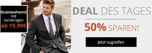 Nur heute 50% sparen beim Deal des Tages