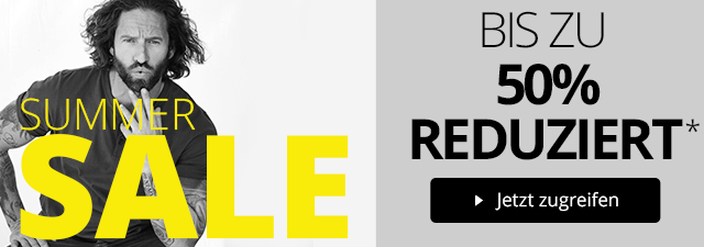 SALE - Bis 50% reduziert