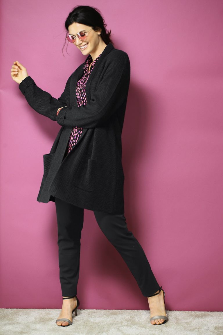 Cardigan zur eleganten Hose