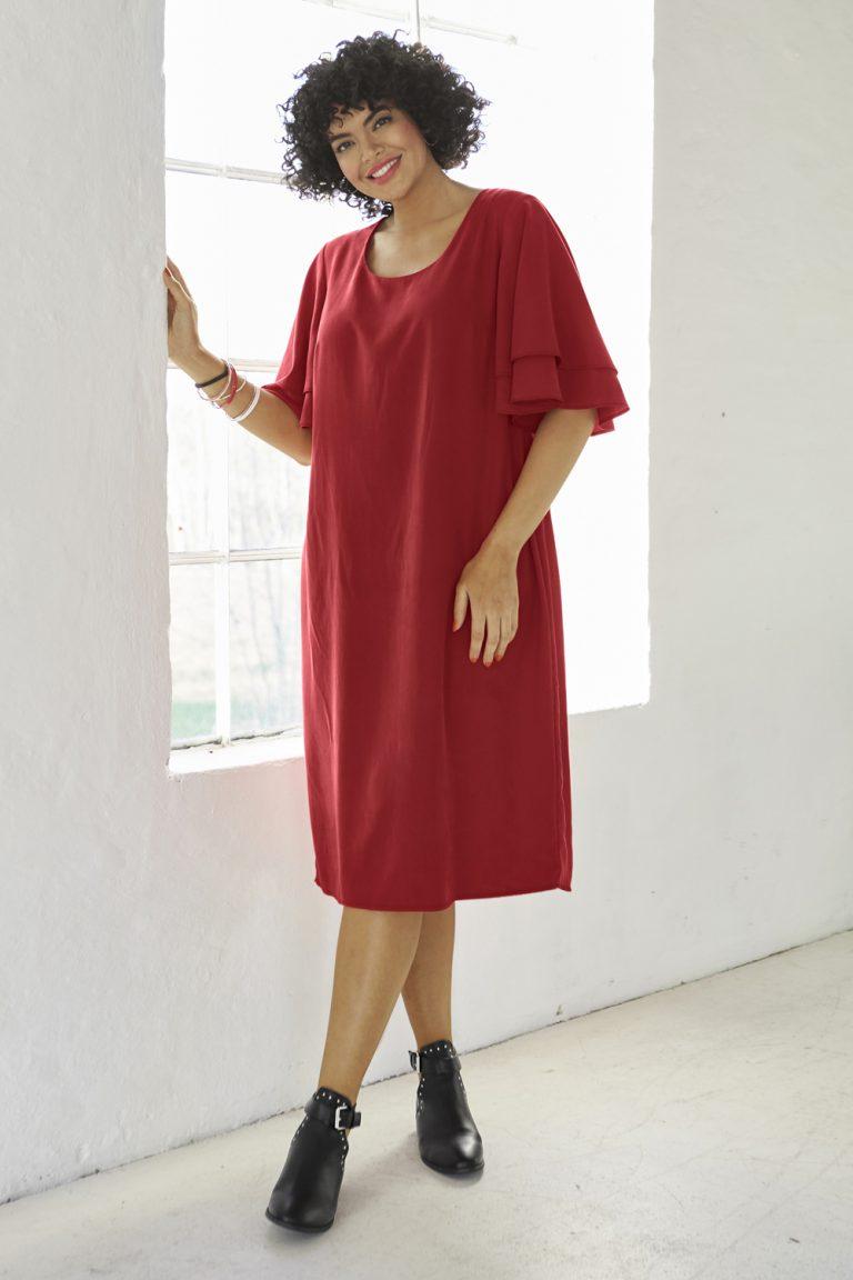 Kleid mit Lyocell-Anteil